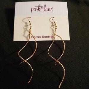Park Lane Whisper Pierced Earrings (Goldtone)